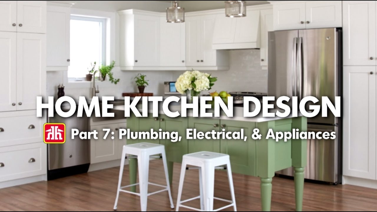 House & Home: Home Kitchen Design Pt. 7 – Plumbing, Electrical & Appliances